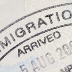 stamp of immigration