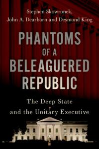 Book cover of Phantoms of a Beleagured Republic