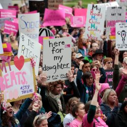 Photo of Protest against Womens Right to Choose